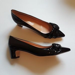 NWOT Brooks Brothers | black patent leather heels